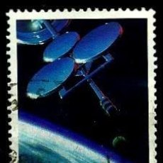 Sellos: AUSTRALIA YV 0931 (SATELITE AUSSAT) (USADO). Lote 218030086