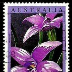 Sellos - Australia Yv 0973 (Orquidea australiana) (usado) - 139229814