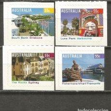 Sellos: AUSTRALIA CONJUNTO DE SELLOS TURISMO 2008 ** NUEVOS ADHESIVOS. Lote 139449894