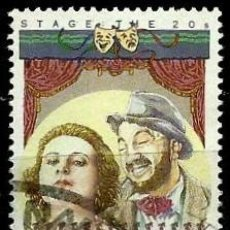 Sellos - Australia Yv 1118 (Estrellas del cine y teatro australianas) (usado) - 139762174