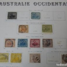 Sellos: AUSTRALIA OCCIDENTAL. Lote 142291418