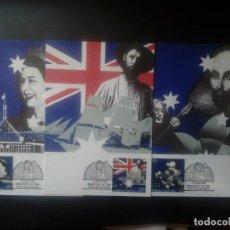 Sellos: LOTE DE 3 MAXIMAS DE AUSTRALIA, YT 1085/ 87. Lote 142678186