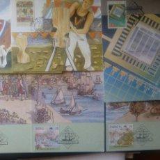 Sellos: LOTE DE 6 MAXIMAS DE AUSTRALIA. Lote 142679170