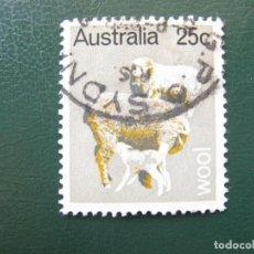 Sellos: AUSTRALIA, 1969, LANA, YVERT 391. Lote 147170834