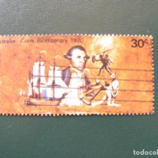 Sellos: AUSTRALIA, 1970, 200 ANIV. DESCUBRIMIENTO DE AUSTRALIA, YVERT 412. Lote 147171242