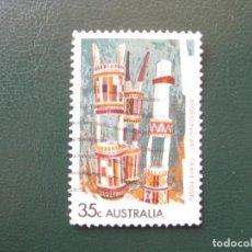 Sellos: AUSTRALIA, 1971 ARTE ABORIGEN, YVERT 446. Lote 147171410