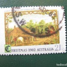 Sellos: AUSTRALIA, 1982 NAVIDAD. Lote 147172038