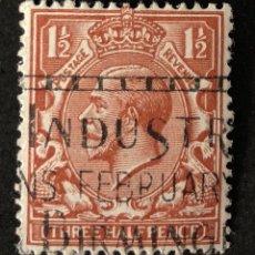 Sellos: SELLO CLÁSICO EN USADO DE AUSTRALIA 1 1/2- CORONA. Lote 147434858