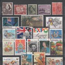 Sellos: R/19580, LOTE DE 29 SELLOS USADOS DE -AUSTRALIA-, TODOS DIFERENTES, EN BUEN ESTADO. Lote 150545126