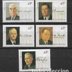 Sellos: AUSTRALIA 1994 ** MNH SC 1380 STRIP OF 5 4.25 - 2/27. Lote 151622186