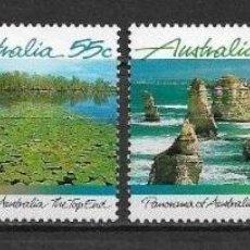 Sellos: AUSTRALIA 1988 ** MNH SC 1098-1101 (4) 5.00 NATURALEZA - 2/27. Lote 151623302
