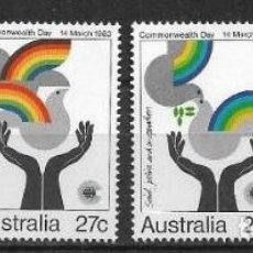 Sellos: AUSTRALIA 1983 ** MNH SC 864-867 (4) 2.30 - 2/27. Lote 151623782
