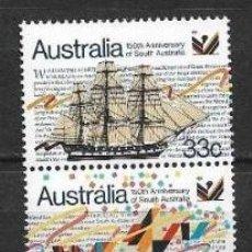 Sellos: AUSTRALIA 1986 ** MNH SC #974-975 1.00 BARCOS - 2/27. Lote 151624110