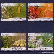 Timbres: R/19329, SERIE DE SELLOS USADOS DE AUSTRALIA -AGRICULTURA AUSTRALIANA-, AÑO 2011, EN BUEN ESTADO. Lote 154968994