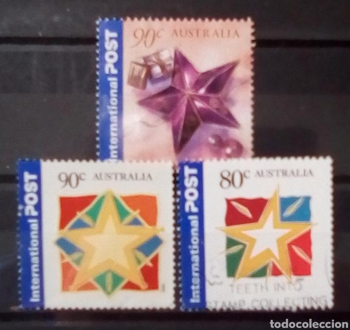 AUSTRALIA NAVIDAD SERIE DE SELLOS USADOS (Briefmarken - Internationale - Ozeanien - Australien)