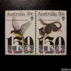 Sellos: AUSTRALIA YVERT 888/9 SERIE COMPLETA NUEVA SIN CHARNELA. FAUNA. AVES. MAMÍFEROS. Lote 156558068