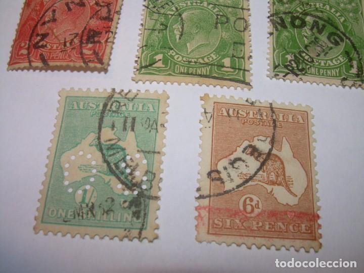 Sellos: CINCO SELLOS AUSTRALIA. - Foto 3 - 160738910