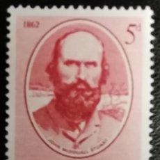 Sellos: 1962. HISTORIA. AUSTRALIA. 278. JOHN MAC DOUALL-STUART. CENTENARIO TRAVESÍA AUSTRALIA. NUEVO.. Lote 161950282