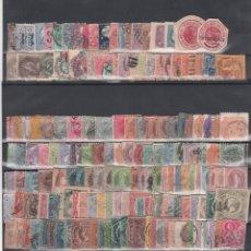 Sellos: AUSTRALIA, CINCO FICHAS CON CIENTOS DE SELLOS USADOS DE DISTINTAS ÉPOCAS, (ALTO VALOR DE CATALOGO). Lote 171451415