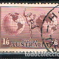 Sellos: AUSTRALIA 122 A, ALEGORIA DEL CORREO AEREO (AÑO 1934) USADO. Lote 175797874