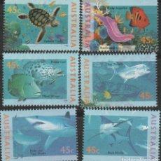 Sellos: LOTE S SELLOS AUSTRALIA NUEVOS AÑO 1995. Lote 178766260