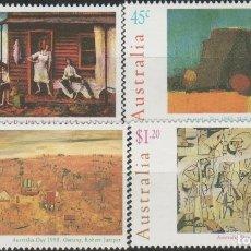 Sellos: LOTE S SELLOS AUSTRALIA NUEVOS AÑO 1995 SERIE COMPLETA ARTE Y PINTURA. Lote 178766646