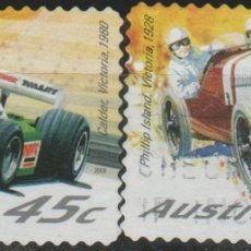 Sellos: LOTE S SELLOS AUSTRALIA RALLY COCHES. Lote 178769172