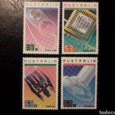 Sellos: AUSTRALIA. YVERT 1022/5 SERIE COMPLETA NUEVA SIN CHARNELA. REALIZACIONES TECNOLÓGICAS. Lote 178811147