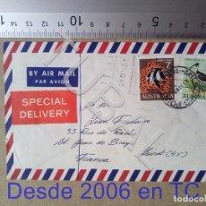Sellos: TUBAL AUSTRALIA FRANCIA 1967 SOBRE CORREO AEREO ENVIO 70 CENT 2019 T1. Lote 179250796