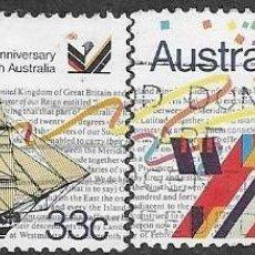 Sellos: SELLOS USADOS DE AUSTRALIA, YT 934/ 35, FOTO ORIGINAL. Lote 183416968