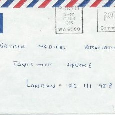 Sellos: 1983. AUSTRALIA. PERTH. CONTAMINACION/POLLUTION. MEDIO AMBIENTE/ENVIRONMENT. NATURALEZA/NATURE.. Lote 183435661