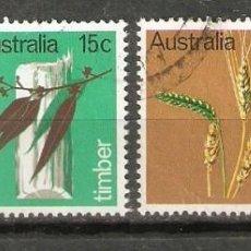 Sellos: AUSTRALIA 1969 INDUSTRIA PRIMARIA YT 388/391. Lote 184845755