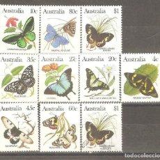 Sellos: AUSTRALIA,1983,NUEVOS,GOMA ORIGINAL, SIN FIJASELLOS. CAT.YT.825/834.1 VALOR USADO,SIN GOMA Y CON FIJ. Lote 186050011