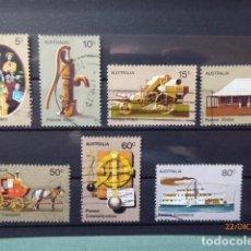 Sellos: SERIE DE AUSTRALIA CIRCULADOS, BONITOS. . Lote 189103932