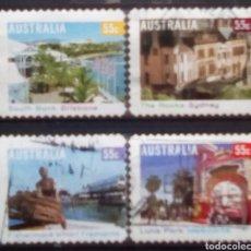 Sellos: AUSTRALIA TURISMO NACIONAL SERIE DE SELLOS USADOS. Lote 222061498