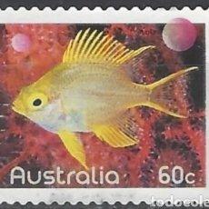 Sellos: AUSTRALIA PECES DORADA SELLO USADO. Lote 189282236
