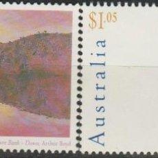 Sellos: LOTE Q - SELLOS AUSTRALIA NUEVOS ARTE PINTURA. Lote 218611060