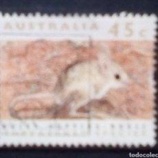 Sellos: AUSTRALIA FAUNA AUTÓCTONA SELLO USADO. Lote 190336091
