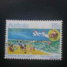 Sellos: POSTAGE AUSTRALIA, 85C, CHRISTMAS, 1983.. Lote 192003087