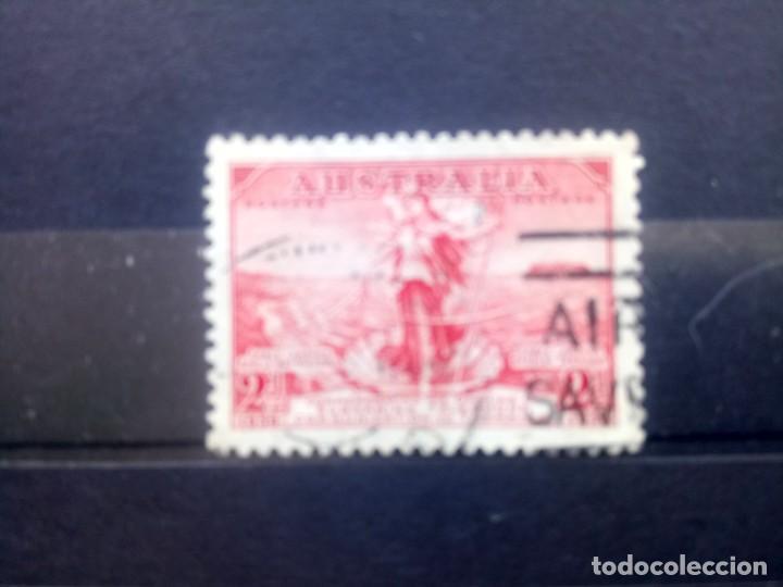 AUSTRALIA 1936, INAUGURACIÓN DEL CABLE TELEFÓNICO A TASMANIA, YT 105 (Sellos - Extranjero - Oceanía - Australia)