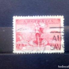 Sellos: AUSTRALIA 1936, INAUGURACIÓN DEL CABLE TELEFÓNICO A TASMANIA, YT 105. Lote 192960245