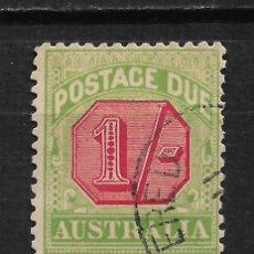 Sellos: AUSTRALIA 1934 SC # J63 - 15/32. Lote 193398813