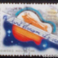 Sellos: AUSTRALIA GRUPO MUSICA POP CROWDED HOUSE SELLO USADO NO AUTOADHESIVO. Lote 193902111