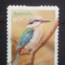 Sellos: AUSTRALIA MARTIN PESCADOR SELLO USADO. Lote 194393585