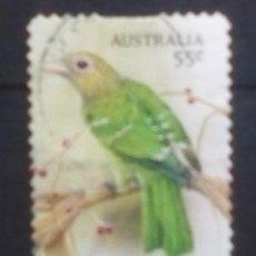 Sellos: AUSTRALIA AVES SELLO USADO. Lote 194393866