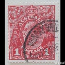 Sellos: AUSTRALIA JORGE V ( ONE PENNY 1918 ). Lote 194961671