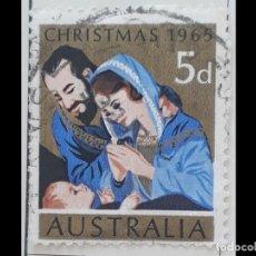 Sellos: AUSTRALIA - 1965 - ADORACION. Lote 195002996