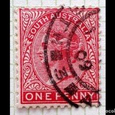 Sellos: AUSTRALIA -QUEEN VICTORIA - SOUTD ADELAILA - MI:AU-SA80C. Lote 195008522