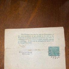 Sellos: FAJA POSTAL DE AUSTRALIA. 1/2 PENNY. HALF PENNY. VER FOTO. . Lote 198014856