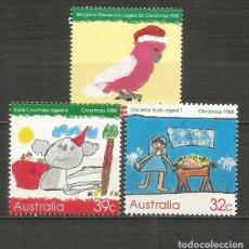 Sellos: AUSTRALIA YVERT NUM. 1103/1105 ** SERIE COMPLETA SIN FIJASELLOS. Lote 198298577